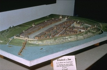 modell langhaus steinzeit